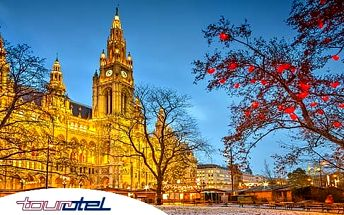 Vídeň, Rakousko na 3 nebo 4 dny pro 2 osoby se snídaněmi v hotelu**** v centru, platí rok