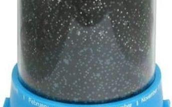 Projektor noční oblohy - hvězdy - modrá
