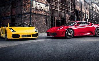 Jízda ve Ferrari F430 nebo Lamborghini Gallardo včetně paliva