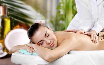 60min. masáž v ostravském Studiu Amon: kokosová, klasická relaxační a anticelulitidní
