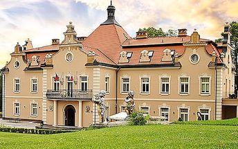 Víkend na zámku Berchtold s masáží, vstupem na zámek, snídaní a možností zážitkové večeře
