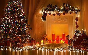 Led osvětlení na stromeček pro interiér: Až 30metrová světýlka, různé barvy a poštovné zdarma