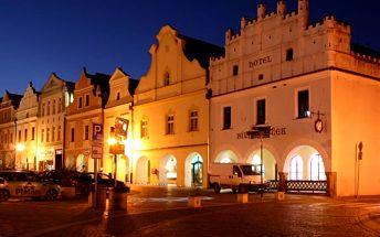 Dovolená v Třeboni hotel Bílý Koníček