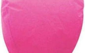 Lampión štěstí 10 ks - čepice - růžová