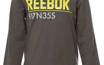 Dětské tričko s dlouhým rukávem Reebok vel. 11 - 12 let, 152 cm