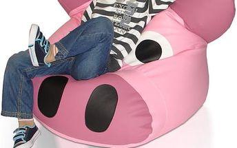 Dětský sedací vak Prasátko