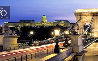 4* wellness Budapešť na 3 dny pro 2 osoby se snídaněmi, saunou, vířivkou a drinkem