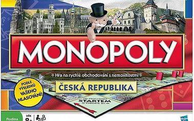 Hasbro Monopoly národní edice cz