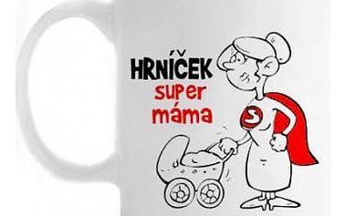 Vtipný hrnek - Super Máma