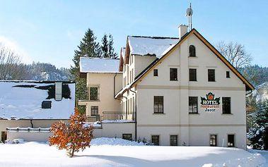 Aktivní zimní odpočinek v Adršpachu pro dva