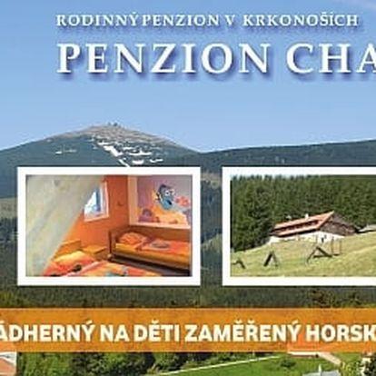 Zimní dovolená v Krkonoších na 3 dny s plnou penzí.