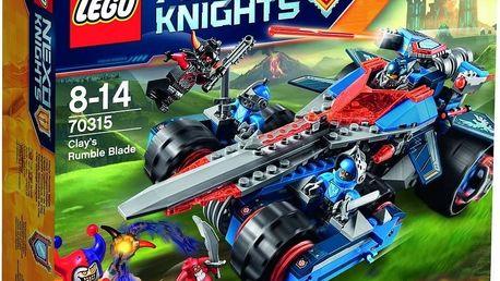 LEGO® NEXO KNIGHTS™ 70315 Clayova burácející čepel