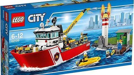 LEGO® City 60109 Hasičský člun