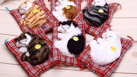 Roztomilá plyšová simulace - kočička