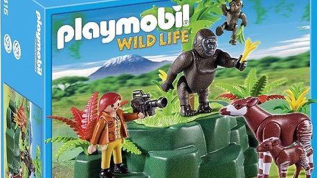 Playmobil 5415 gorily a okapi