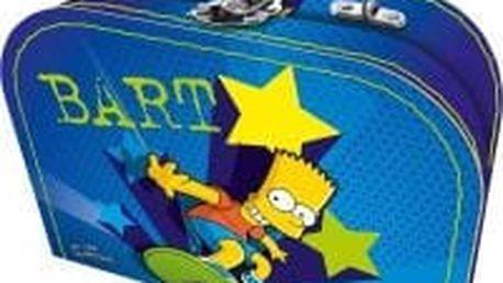 VITAR The Simpsons Kufřík Bart - 50 tabletek multivitamínu želé + multivitamín s kolostrem 45 tabletek + kufřík jako dárek