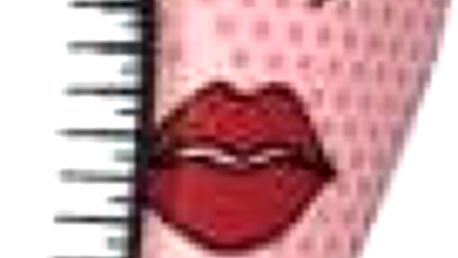 DTANGLER kartáč Red Lip/Eye