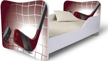 Dětská postel s motivem Hokej