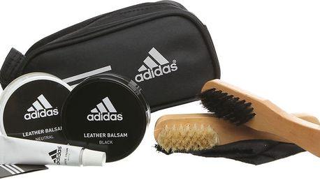 Sada krémů a kartáčů na obuv Adidas