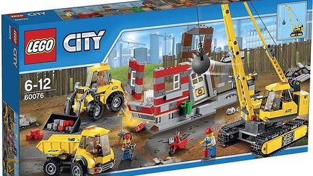 LEGO® City 60076 Demoliční práce na staveništi