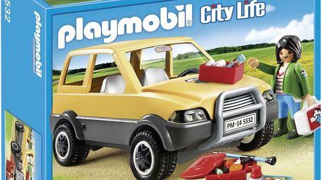 Playmobil 5532 veterinářka s autem