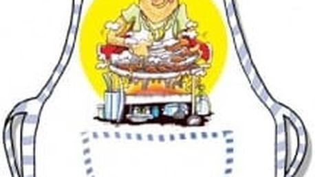 Zástěra - Gril master
