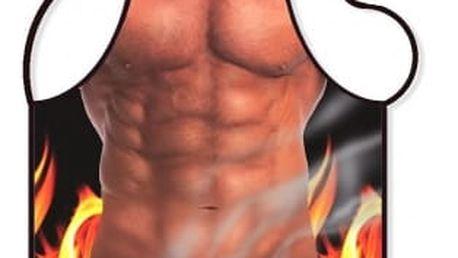 Zástěra - Muž gril