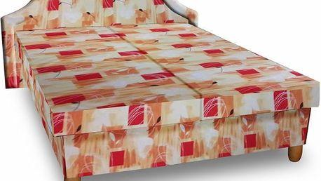 Čalouněná postel s úložným prostorem Bianka - DOPRAVA ZDARMA!