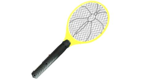Hmyzí paralyzér - elektrická plácačka na mouchy - žlutá