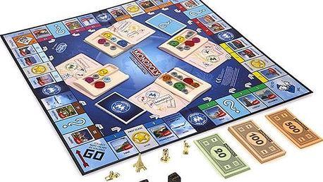 Hasbro Monopoly Here and now Svetová edícia SK