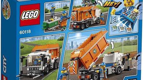 LEGO® City 60118 Popelářské auto