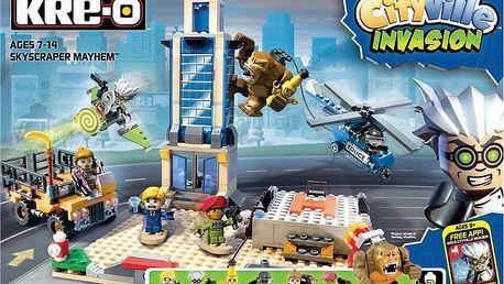Hasbro KRE-O CityVille interaktivní mrakodrap
