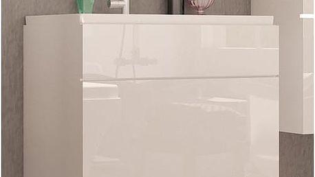 Bílá skříňka pod umyvadlo Aureliana bbl 2