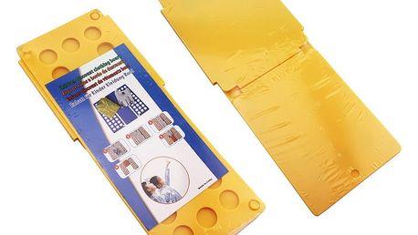 Deska na rychloskládání oblečení - žlutá