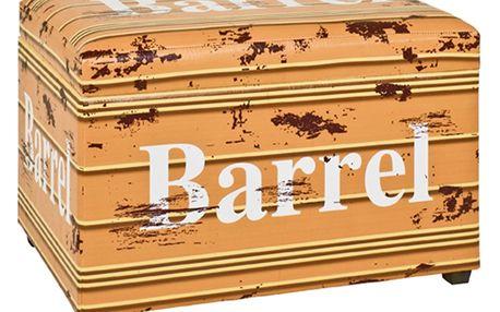 Truhla se sedákem BARREL