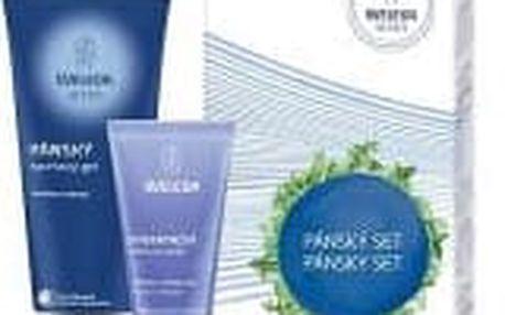 WELEDA Osvěžující set pro muže sprchový gel 200 ml Hydratační krém pro muže 30 ml