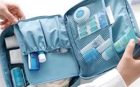 Cestovní organizér na kosmetiku a hygienické pomůcky - dodání do 2 dnů