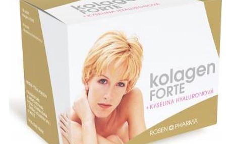 ROSEN PHARMA Kolagen FORTE 120 kusů + Kyselina hyaluronová 60 kusů