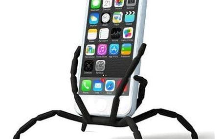 SpiderPodium - držák na telefony - černá