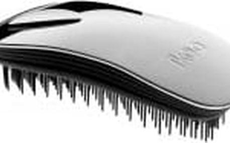 Ikoo Home Metallic Kartáč na vlasy Silver/black