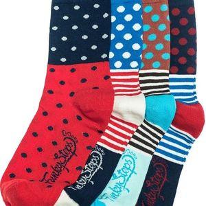 Čtyři páry ponožek Funky Steps Roni, unisex velikost