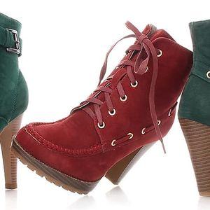 Parádní dámská obuv na podzim a zimu