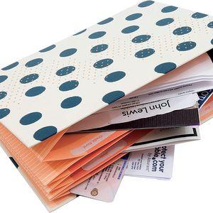 Pouzdro na účtenky a poznámky Busy B Expanding File
