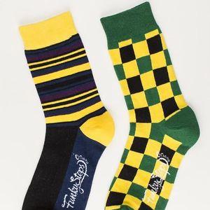 Dva páry ponožek Funky Steps Hype, unisex velikost