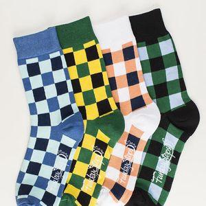 Čtyři páry ponožek Funky Steps Luce, unisex velikost