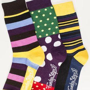 Tři páry ponožek Funky Steps Fronia, unisex velikost