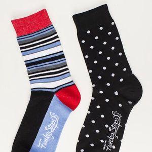 Dva páry ponožek Funky Steps Quick Step, unisex velikost