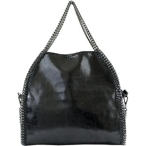 Černá kožená kabelka Brandy - doprava zdarma!