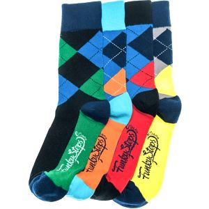 Čtyři páry ponožek Funky Steps Benj, unisex velikost
