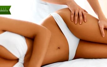 Anticelulitidová masáž stehen, hýždí a břicha včetně zábalu v délce 1x nebo 5x 90 minut